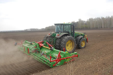 Biggest rotary riging cultivator